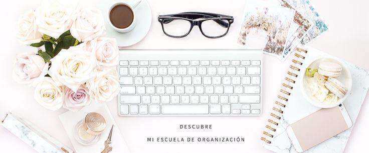 Encuentra tu método perfecto para organizarte. El curso más completo y cuki para poner toda tu vida en orden.