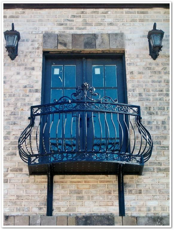 Decorative ironwork, balcony