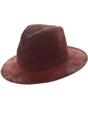 Sombrero Australiano Cuero Peltre