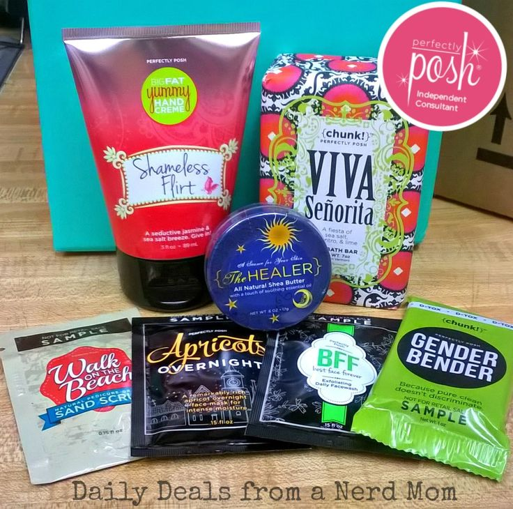 Perfectly Posh Review >> Daily Deals from a Nerd Mom