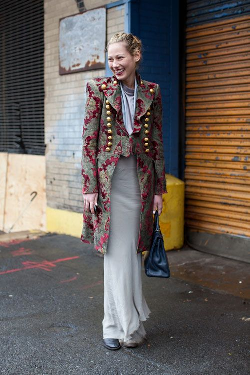 Street Style Fall 2013: New York Fashion Week