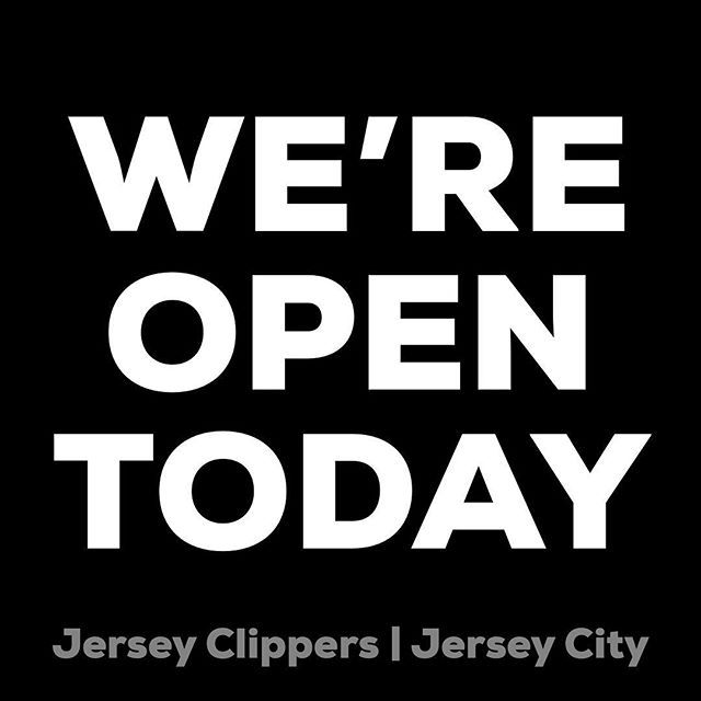 We Will Be Open Today Sunday December 30th From 10am To 7pm Jerseycity Jersey Jerseycitynj Jerseyhair Haircut Newyears 20 Jersey Jersey City Bayonne