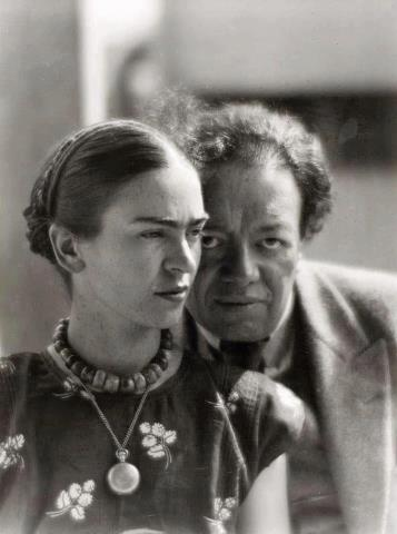 Frida Khalo and Diego Rivera