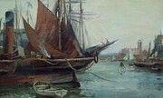 "New artwork for sale! - "" Harbour North Shields 1890 by Foster William Gilbert "" - http://ift.tt/2BylhrT"
