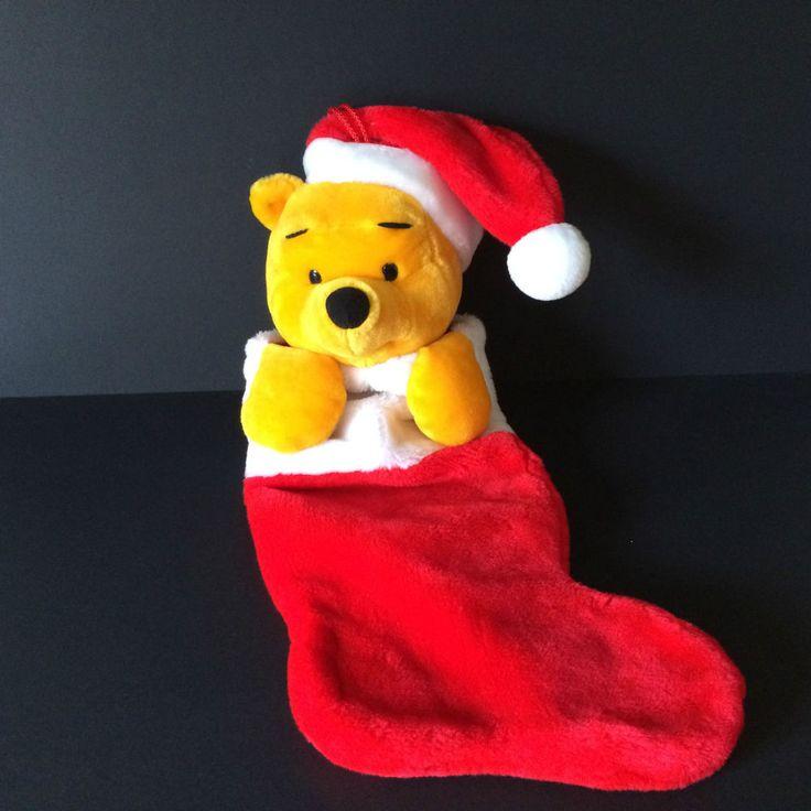Christmas stocking Disney Winnie the Pooh Plush toy