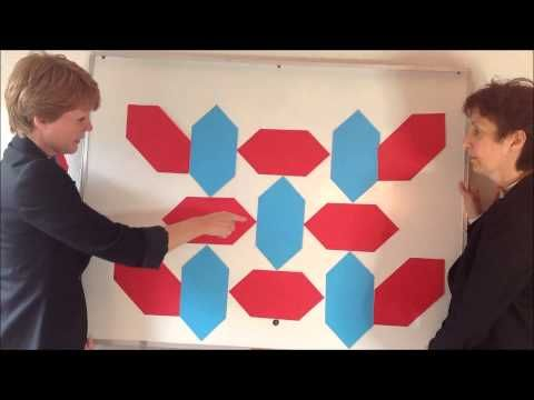 Keerkunst met zeshoeken - Grote Rekendag 2015 - YouTube
