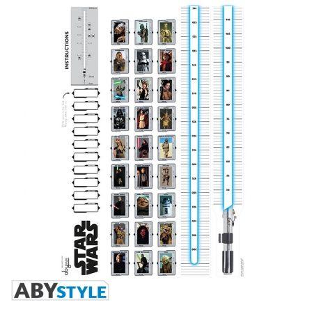 STAR WARS Sticker Star Wars Toise