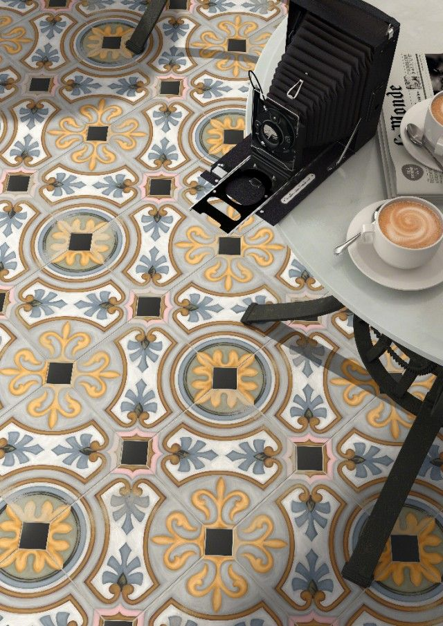 Encaustic Cement Tiles. A must for kitchen, bath, outdoors...and eco-friendly