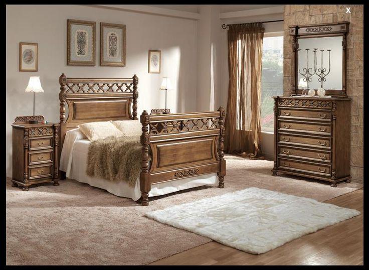 dormitorios clasicos de matrimonio buscar con google