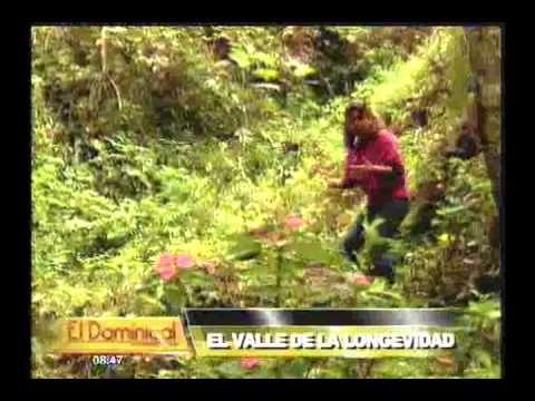 ▶ El valle de la longevidad: conozca la fuente de agua que otorga una larga vida - YouTube