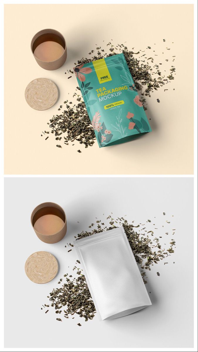 Free Tea Packaging Mockup Free Mockups Pixpine Tea Packaging Packaging Mockup Free Tea
