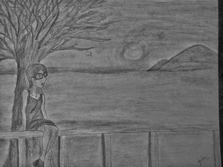 Dibujo echo a lápiz