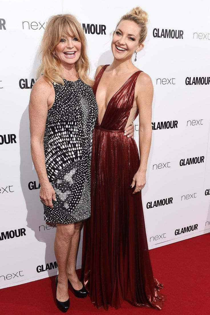 Kate Hudson gives her mum Goldie a super sweet shout out!