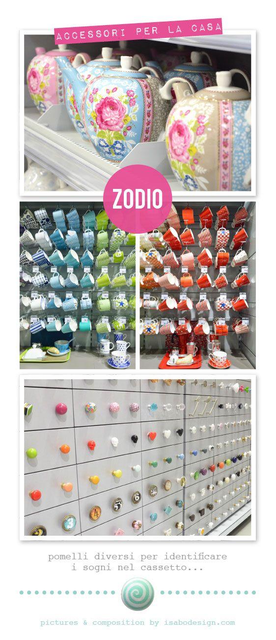 Teiere di Pip Studio (ma non solo!), tantissime mug colorate e più di 300 pomelli per personalizzare casa tua...trovi tutto da Zodio Italia. Ph: Isabo design