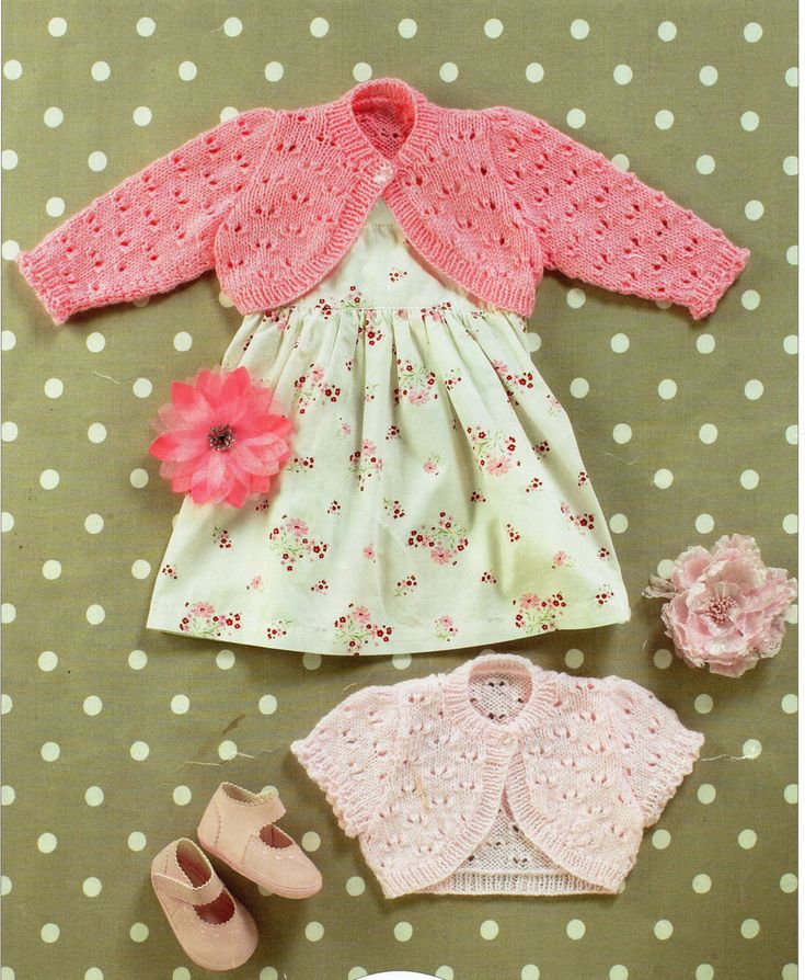 Baby Boleros Knitting Pattern Childs Bolero Girls Bolero