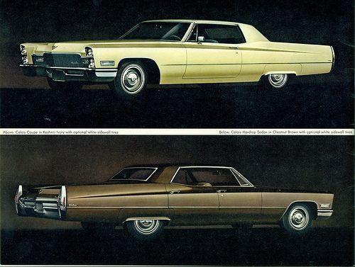 1968 Cadillac Calais 2 and 4 Door Hardtops