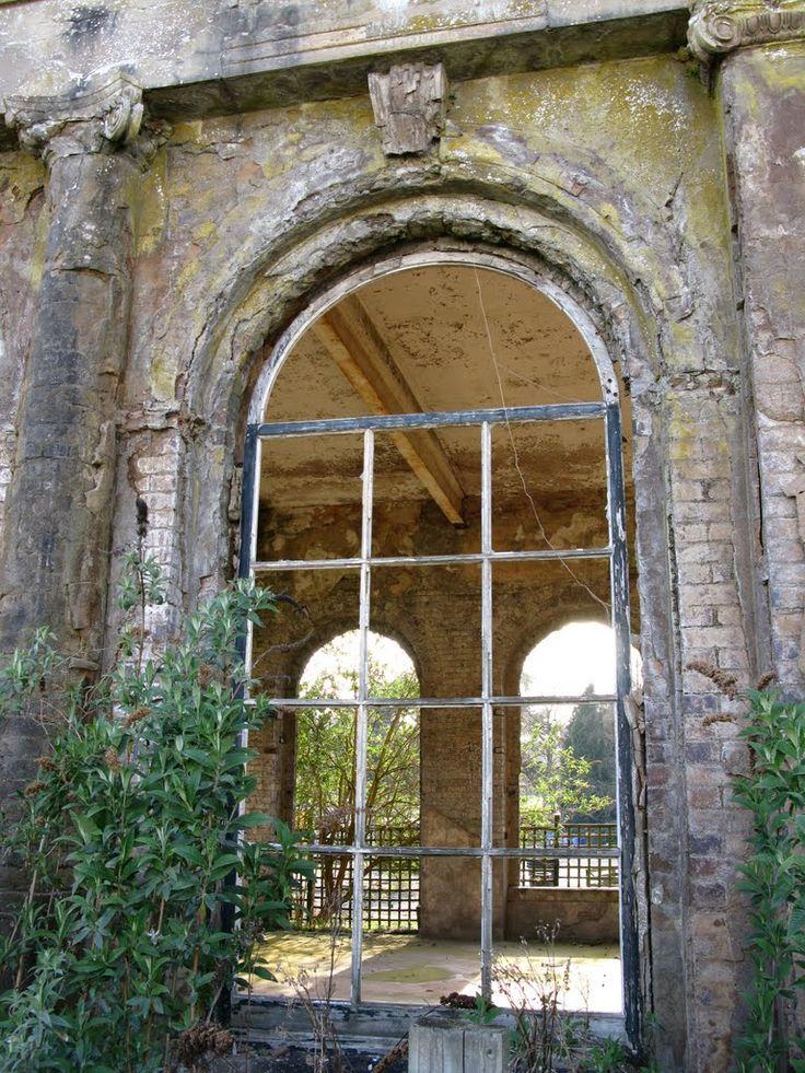 Trentham Hall Ruins In Trentham Gardens Stoke On Trent