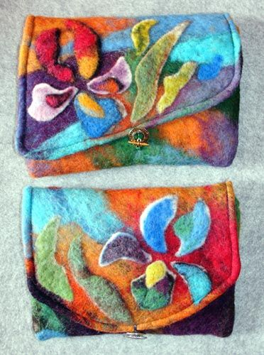 wool felted pouches http://gfwsheep.com/pouch.dir/pouch.html