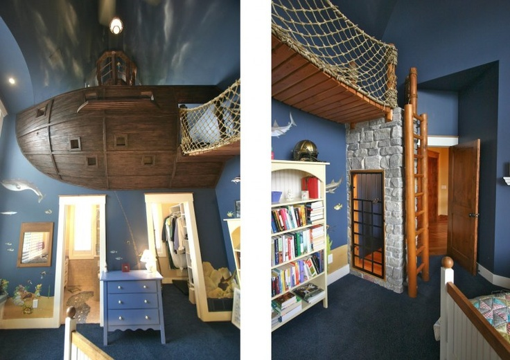 Pirate Theme Bedroom Ideas