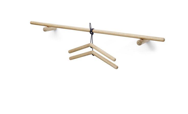 Skagerrak Georg clamps w / leather oak