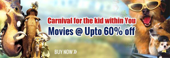 Upto 60% Off On Kids Movies DVD/VCDs Online @ Infibeam