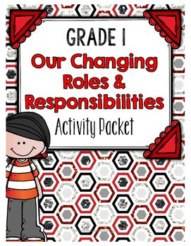 The Our Changing Roles and Responsibilities activity packet is aligned with the Ontario Grade 1 Social Studies curriculum expectations. The big ideas for this packet are as follows:- A persons roles, responsibilities, and relationships change over time and in different situations;- Their own roles, responsibilities, and relationships play a role in developing their identity;- All people are worthy of respect, regardless of their roles, relationships, and responsibilities.This packet…