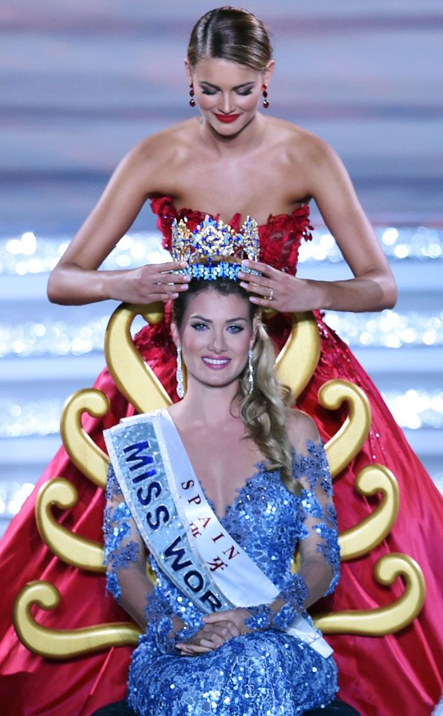 Mireia Lalaguna Royo model from Barcelona, emerged winner of the international beauty pageant. Description from streetsofnaija.net. I searched for this on bing.com/images
