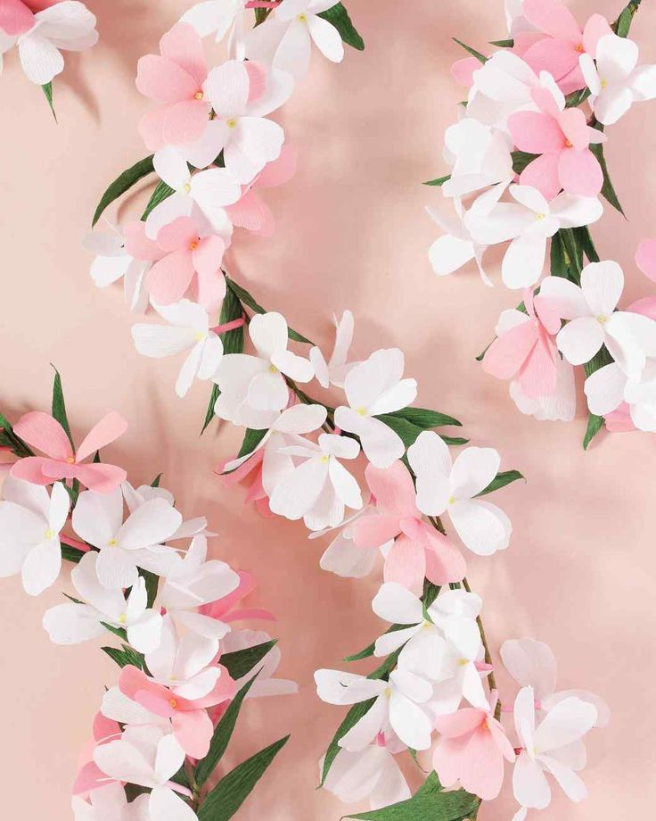 Flower Garland: 1500 Best Images About Paper Crafts On Pinterest