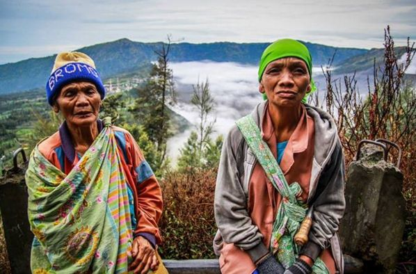 Tengger Tribe of Bromo. West Indonesia