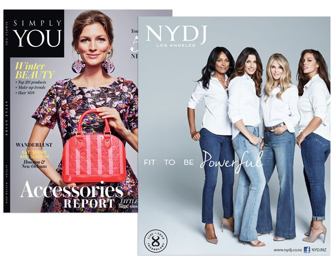SIMPLY YOU MAGAZINE FEATURED NYDJ