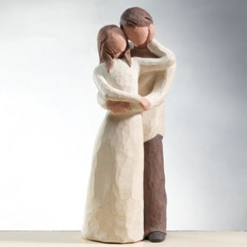 Willow Tree Marriage Cake Topper