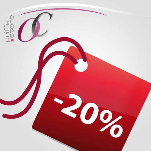 20% DISCOUNT ON ALL ITEMS FROM 22 TO 30 APRIL !!!!! SIGN UP TO RECEIVE THE PROMOTIONAL CODE....  WWW.OCGRIFFESTORE.COM  FURLA, BORBONESE, MICHAEL KORS, UGG, ELISABETTA FRANCHI ECC......
