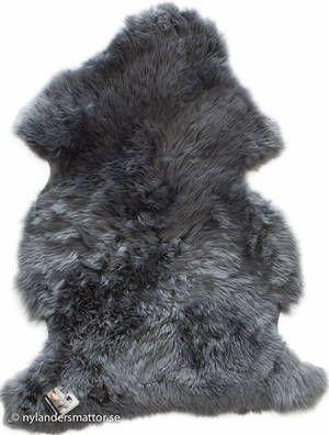 Lammskinn / fårskinn långt rakt hår   Nylanders Mattor