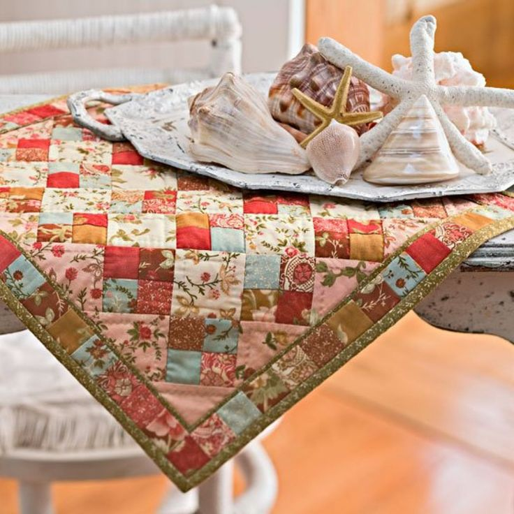 "Stitch up tiny quilts (less than 26"" square) in a flash using these free patterns for small quilts."