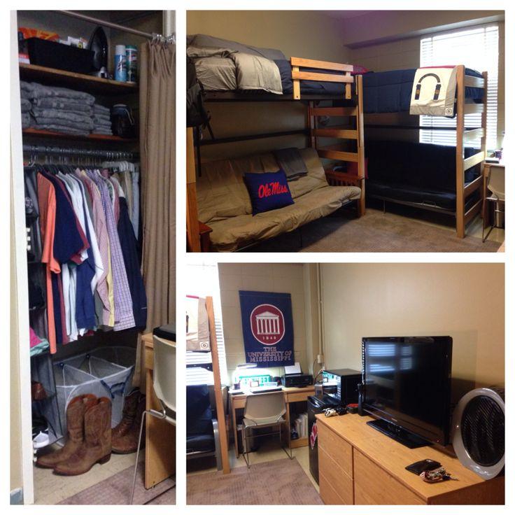 Cullen's dorm room - Stockard Hall- Ole Miss