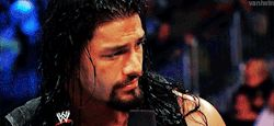 This is me if someone claims the Rock is sexier than Roman. Lol ( Sorry Rock, you're fine but your cousin's finer! :) )