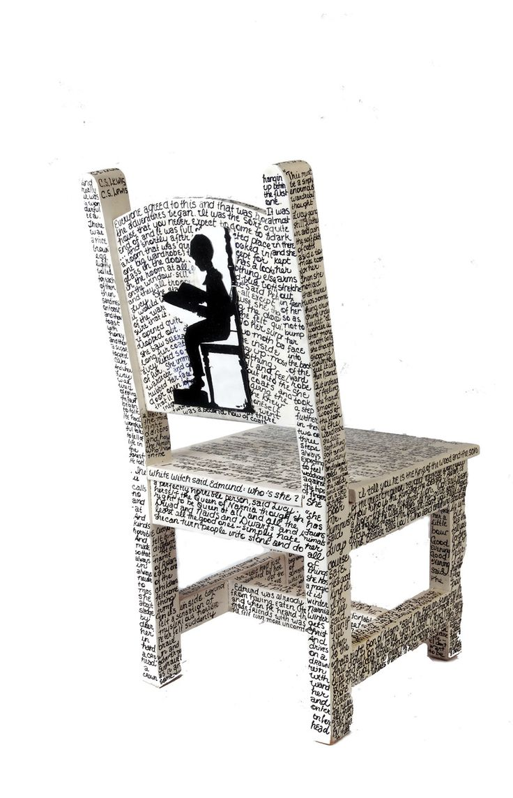 Uncategorized hand painted childrens table and chairs foter - A Reading Chair Auction Idea Students Choose Lines From Favorite Books Titles Too