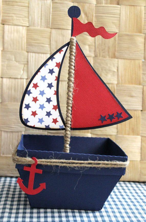 Barca  nautica favore scatola  scatola regalo  Set di 10