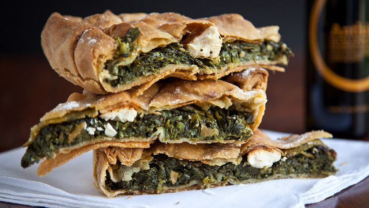 Pelasgaea | Spinach Pie With Homemade Phyllo Dough