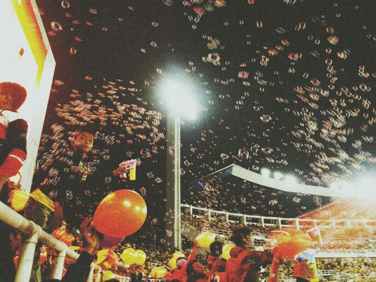 Bubbles ipon celebration in our great home.. Darul Makmur