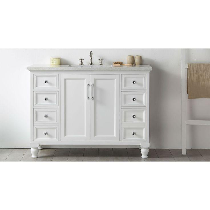 1000 ideas about white vanity bathroom on pinterest white vanity shower trays and bathroom for Bathroom vanity outlet atlanta