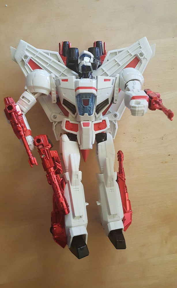 TRANSFORMERS JETFIRE LEADER CLASS GENERATIONS IDW FIGURE GREAT SHAPE