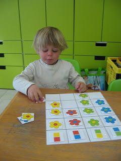peuter-1ste kleuterklas: Thema 'Een bloem voor mama'