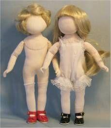 Judi's Dolls Bleuette manikin FREE cloth doll pattern