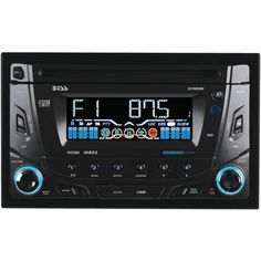 Boss Audio Double-din In-dash Cd Receiver With Bluetooth