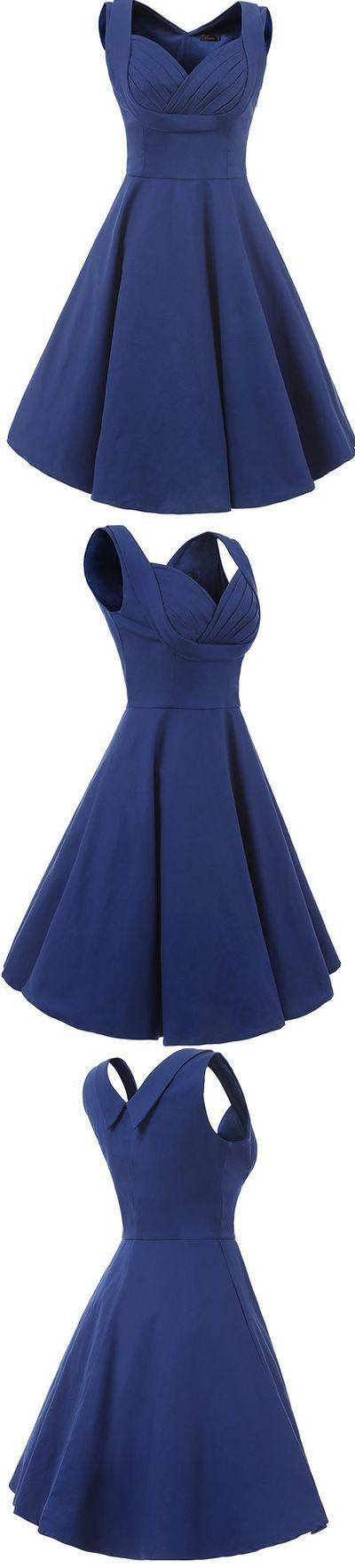 V-Neck Prom Dress,Simple Prom Dress,Short Evening Dress,Custom Made Evening Dress