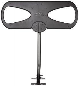 1. AmazonBasics Amplified Indoor/Outdoor HDTV Antenna