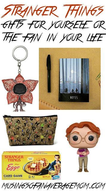 Stranger Things gift ideas for yourself or the fan in your life.