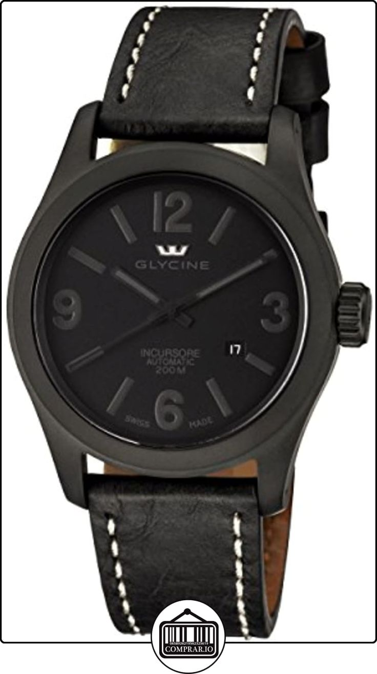 Glycine Incursore Reloj analógico de caballero automático de  ✿ Relojes para hombre - (Gama media/alta) ✿