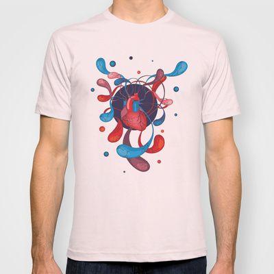 The Bass Heart T-shirt by Vera Moire